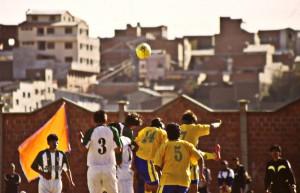 Fußballvergnügen in Copacabana