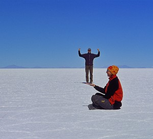 Imaginata in der Salar