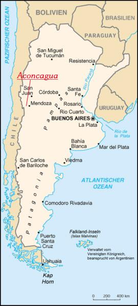 argentinienlandkarte