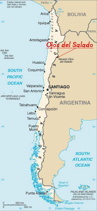 chile-landkarte