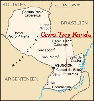 paraguay-landkarte
