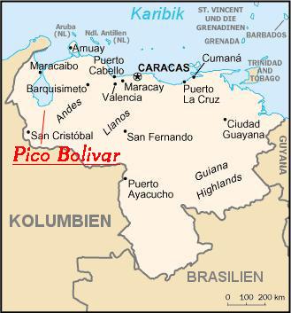 venezuela-landkarte