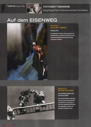 alpin fotowettbewerb auf dem eisenweg